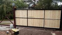 фото автоматические ворота в Великих Луках и Псковской области